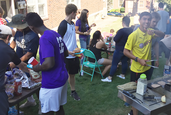 Loras Student Cookout