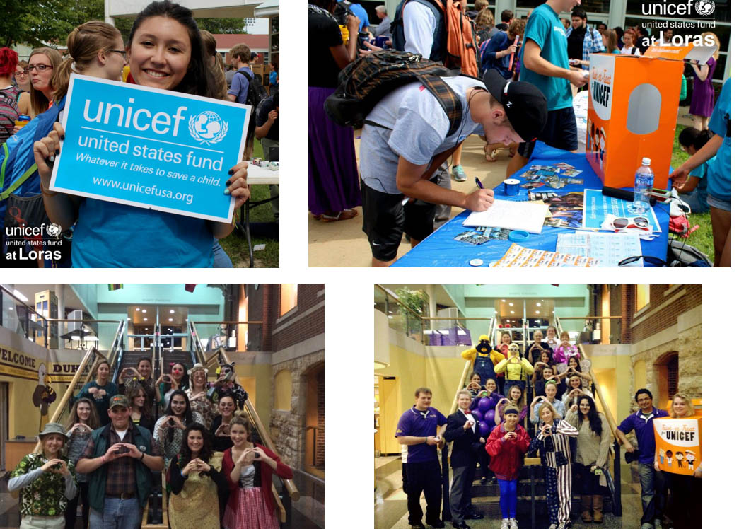 UNICEF Loras College Student Organization images